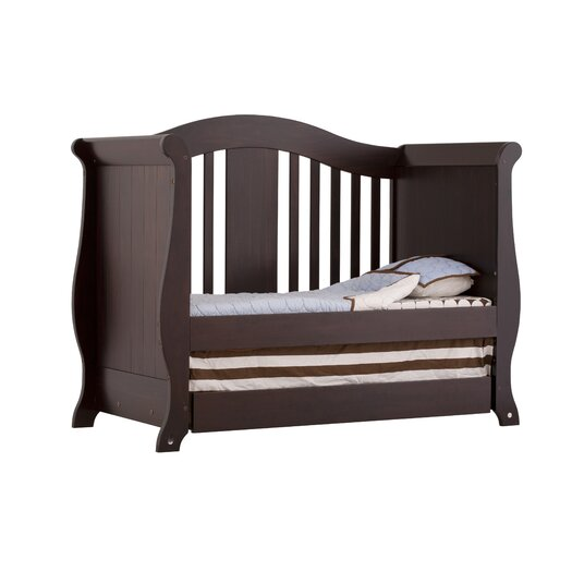Storkcraft Vittoria Fixed Side Convertible Crib