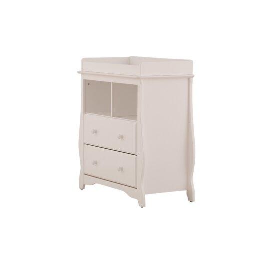 Storkcraft Carrara 2 Drawer Change Table