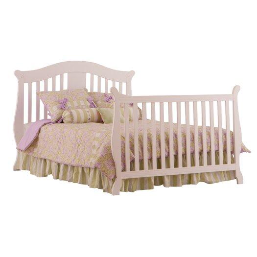 Storkcraft Vittoria Fixed Side Convertible Crib