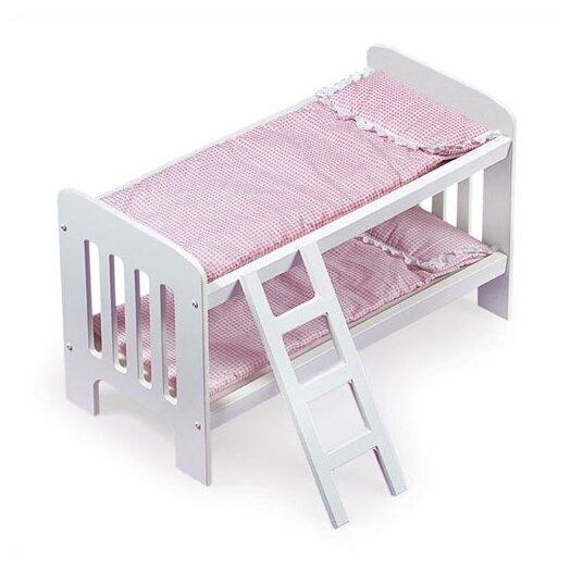 Badger Basket Doll Bunk Beds