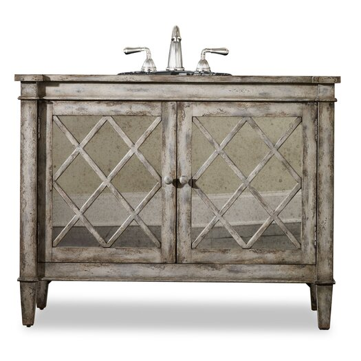 "Cole + Company Designer Kelley 44"" Sink Chest Vanity Set"