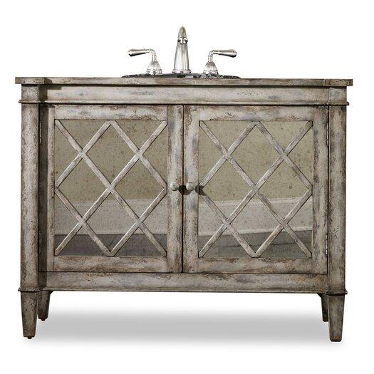 "Cole + Company Designer Series 44"" Single Kelley Chest Bathroom Vanity Set"