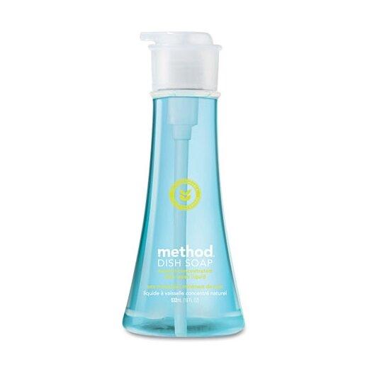 Method® Dish Pump, Sea Minerals, 18 Oz. Pump Bottle