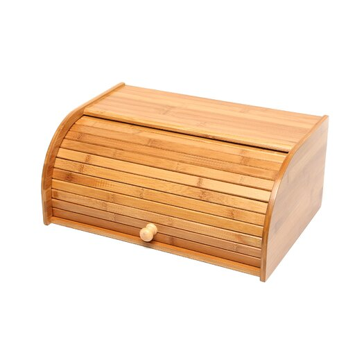 Lipper International Roll Top Bread Box