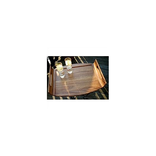 Lipper International Acacia Serveware Reversible Serving Tray