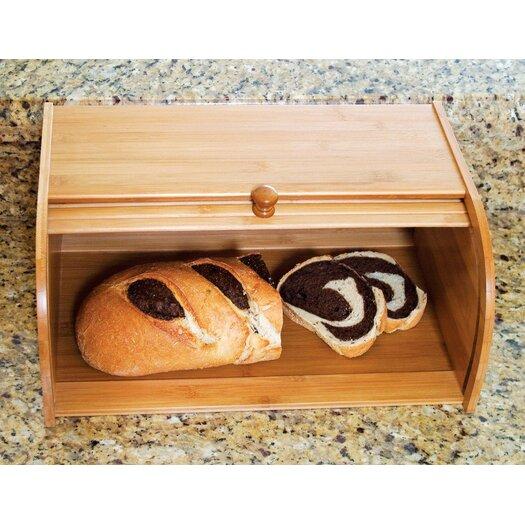 Lipper International Roll Top Bread Box