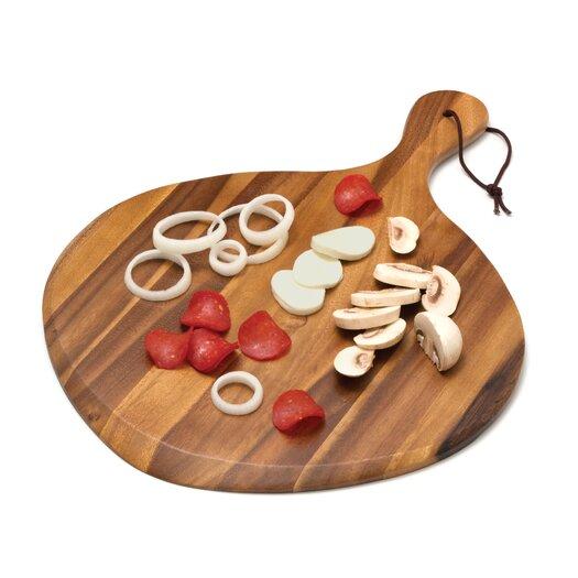 Lipper International Acacia Fan Shaped Pizza Board