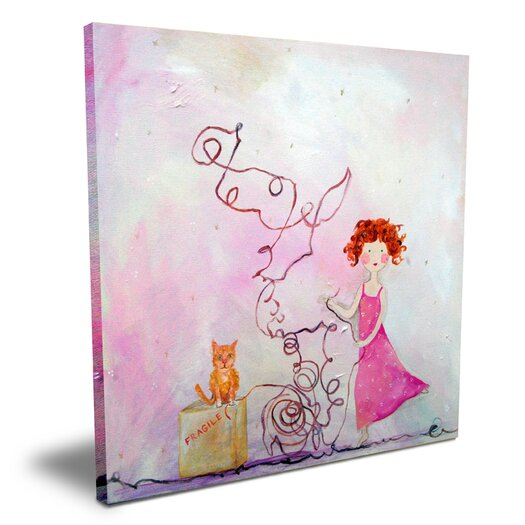 Cici Art Factory Wit & Whimsy Fragile Canvas Art