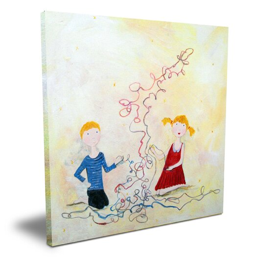 CiCi Art Factory Wit & Whimsy A long Yarn Canvas Art