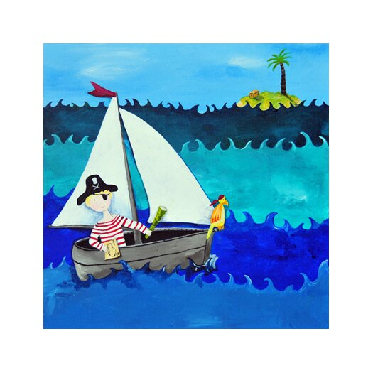 Wit & Whimsy Pirate Canvas Art