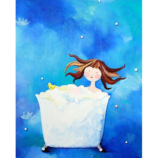 Bathtime Paper Print