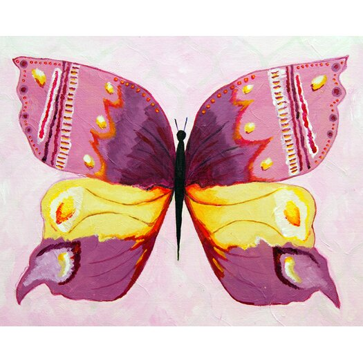 Cici Art Factory Admiral Butterfly Giclee Canvas Art