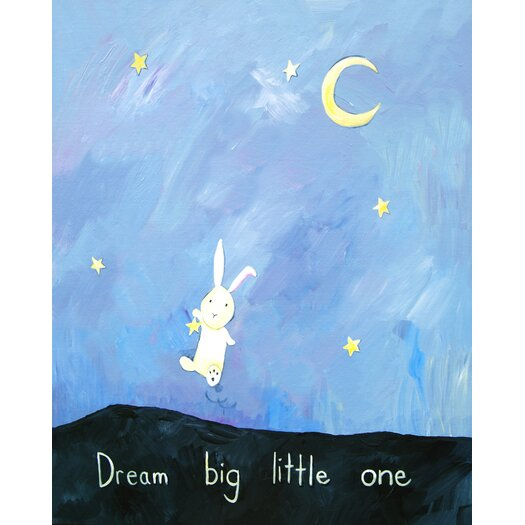 Cici Art Factory Words of Wisdom Dream Big Little One Paper Print
