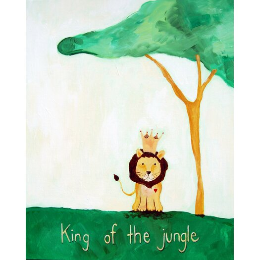Words of Wisdom King of The Jungle Paper Print