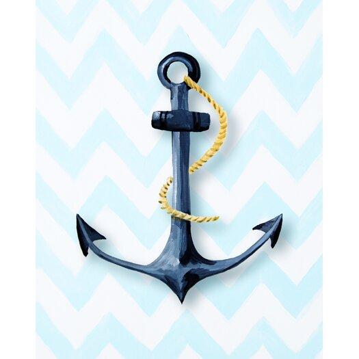 Nautical Anchor Paper Print