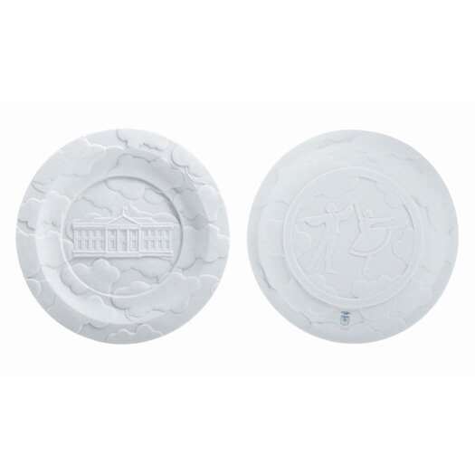 "Makkum Biscuit by Studio Job 8.5"" Fog Banks Plate"