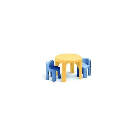 Little Tikes Kids 3 Piece Table & Chair Set II