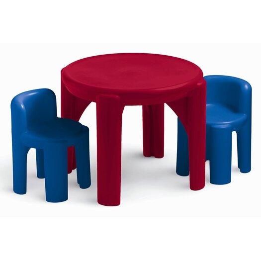 Little Tikes Kids 3 Piece Table & Chair Set II