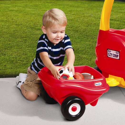 Little Tikes Cozy Coupe Trailer Ride-On
