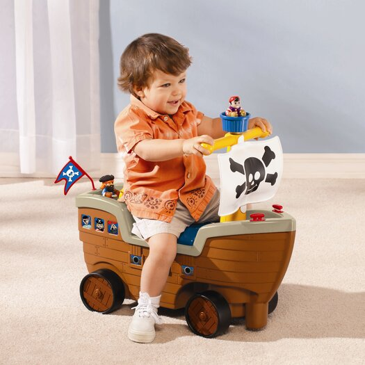 Little Tikes Play 'N Scoot Pirate Ship Ride-On