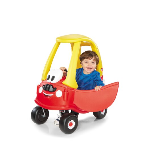 Little Tikes Cozy Coupe With Moustache