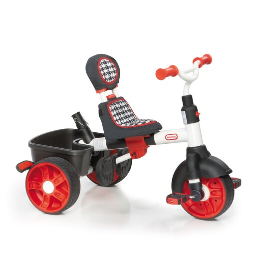 Little Tikes 4-in-1 Sports Edition Trike Tricycle