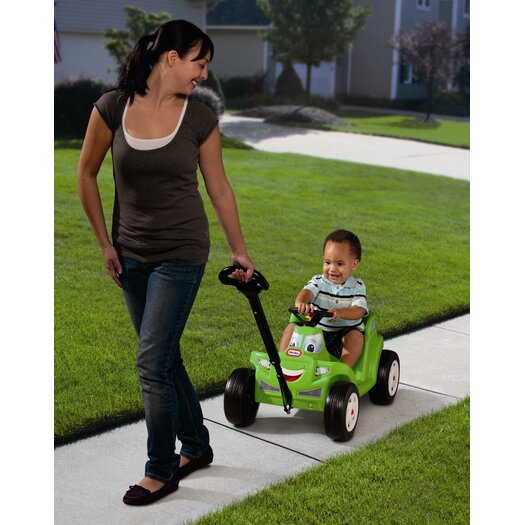 Little Tikes 2-in-1 Cozy Roadster Push Ride-On