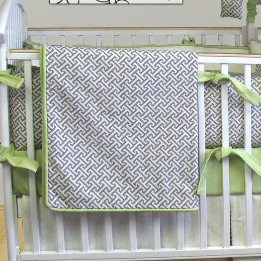 Bebe Chic Metro Blanket in Maze Gray