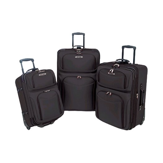 Traveler's Choice El Dorado 3 Piece Rolling Luggage Set