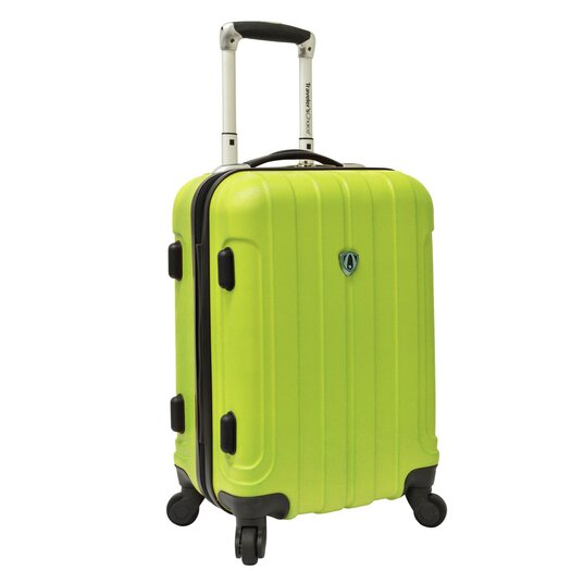 "Traveler's Choice Cambridge 20"" Hardsided Carry On Spinner Suitcase"