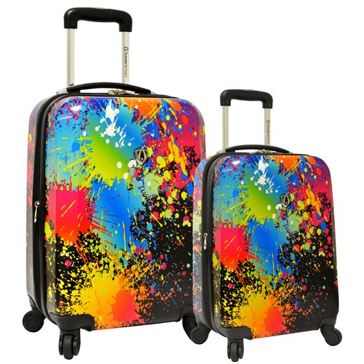 Traveler's Choice 2 Piece Hardsided Expandable Luggage Set