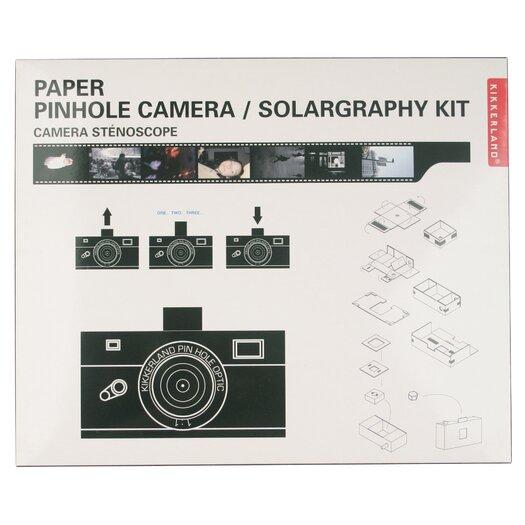 Kikkerland Pinhole Camera Solargraphy Kit