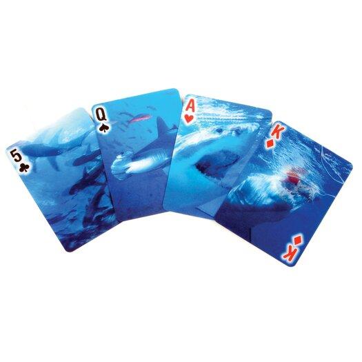 Kikkerland Shark Playing Cards