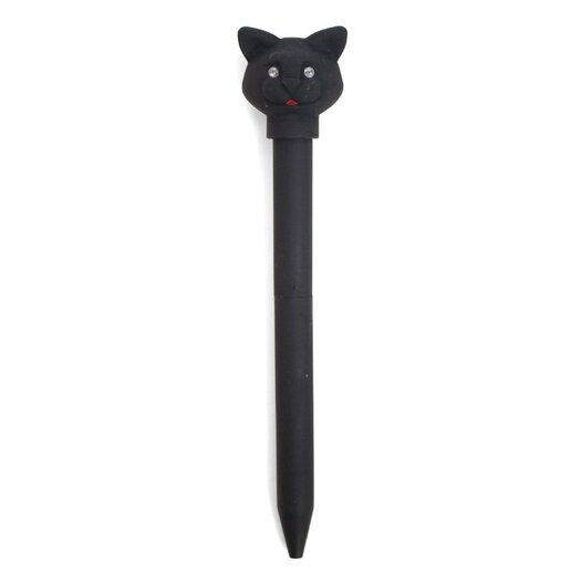 Kikkerland Cat LED Pen Carded