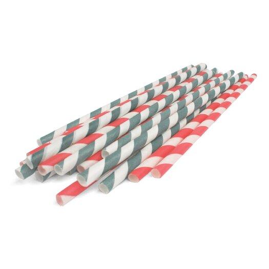 Kikkerland (144 per Carton) Paper Straws