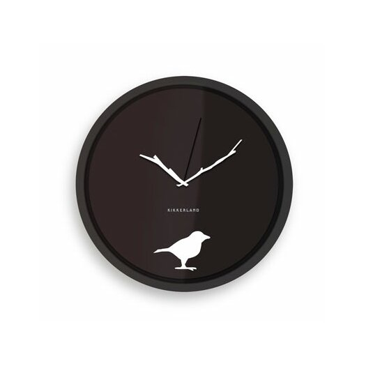 "Kikkerland 8"" Early Bird Wall Clock"