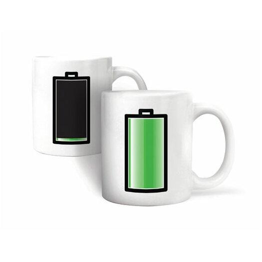 Kikkerland Morph Battery Mug