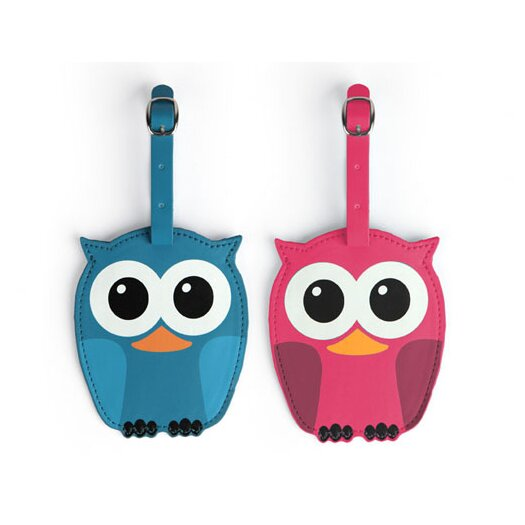 Whoo Owl Luggage Tags