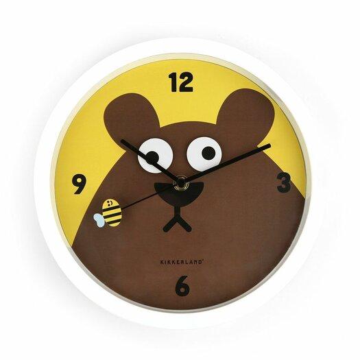 Kikkerland Googly Bear Wall Clock