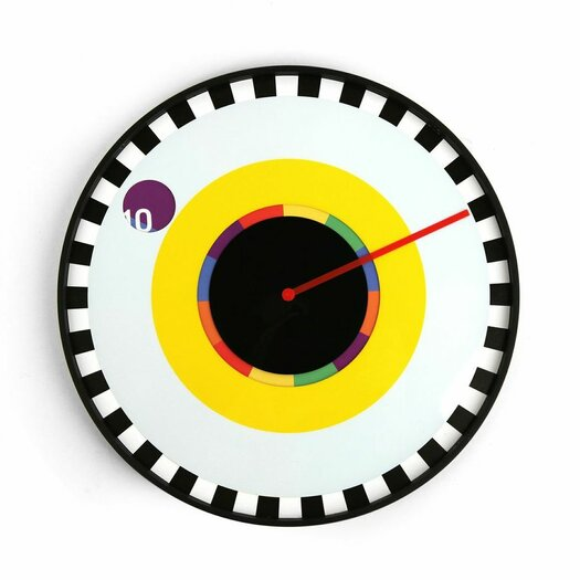 "Kikkerland 10.8"" Sprocket Wall Clock"