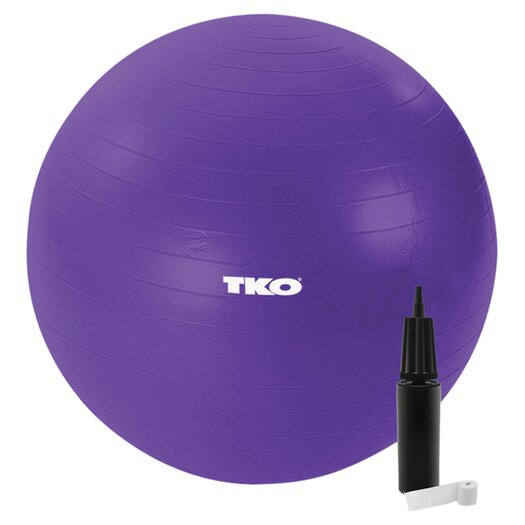 TKO Sports Women's Exercise Ball