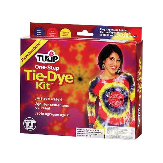 Tulip One Step Dyes Psychedelic Tie Kit
