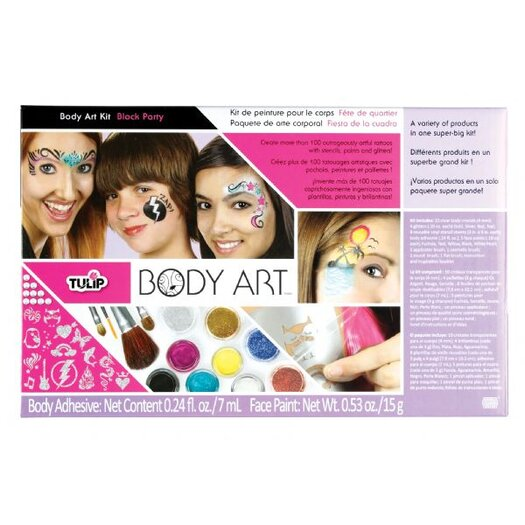 Tulip Body Art Premium Block Party Paint Kit
