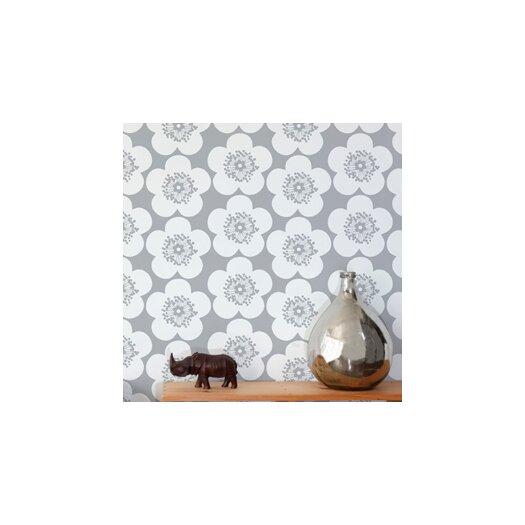 Aimee Wilder Designs Pop Floral Wallpaper Sample