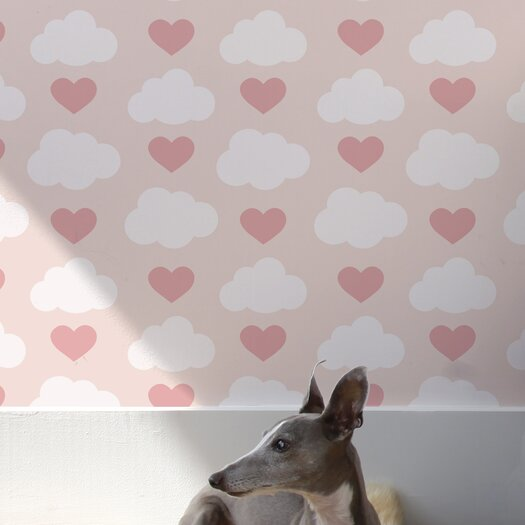 Aimee Wilder Designs Loveclouds Wallpaper