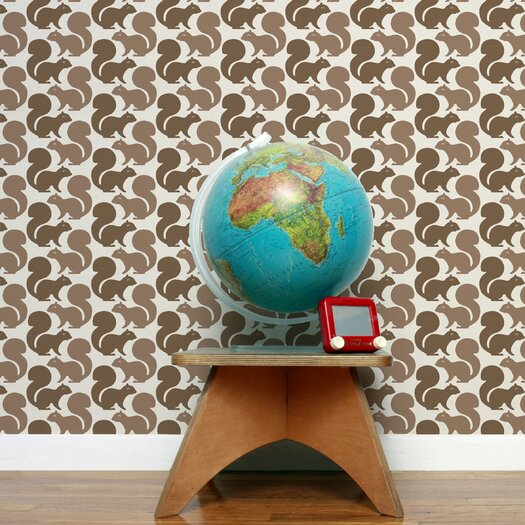 Aimee Wilder Designs Squirrel Wallpaper