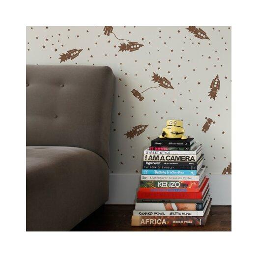 Aimee Wilder Designs Astrobots Wallpaper