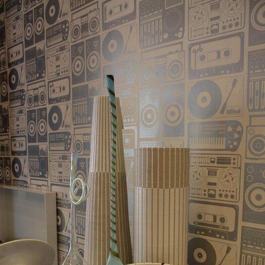 Aimee Wilder Designs Analog Nights Wallpaper