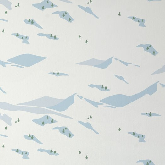 Aimee Wilder Designs Snow Scene Wallpaper