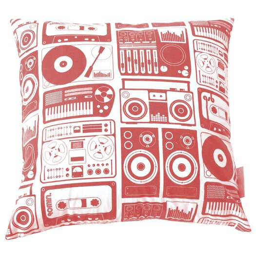 Aimee Wilder Designs Pillow in Salsa